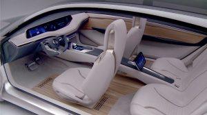 Nissan Vmotion design interni