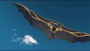 TeCIP ricostruzione prototipo macchina del volo Leonardo