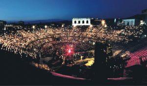 Arena spettacolo serale