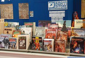 Stand Sergio Bonelli Editore Salone del Libro Torino 2017