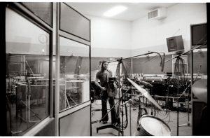 David Gilmour con la Black Strato nel 1973/4