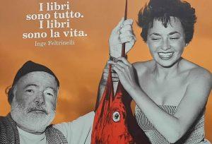 I Libri sono la vita stand Feltrinelli editore libri Hemingway