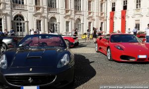 Ferrari collezionisti Castello del Valentino