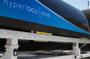 Hyperloop capsula XP-1