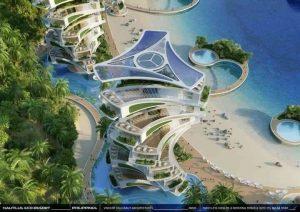 Torri abitative Nautilus eco-resort
