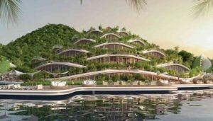 Struttura montagna artificiale Nautilus Resort