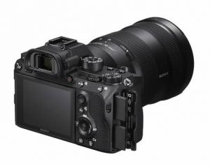 SONY α7R III LCD touch screen e slot