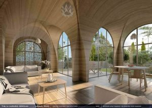 Interno casa 3D Mosul