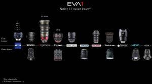 Obiettivi per EVA1
