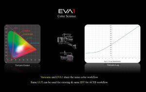 Colorimetria EVA1 e Varicam