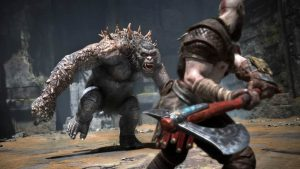 God of War lotta con troll