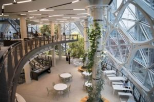Amazon Sphere uffici