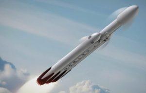 Falcon Heavy simulazione lancio