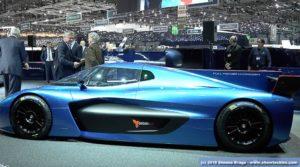 Paolo Pininfarina presenta Pininfarina H2-Speed Green GT