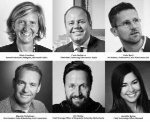 Relatori Digital Week Microsoft 2018