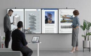 Microsoft Surface Hub 2 multiview