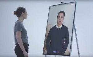 Microsoft Surface Hub 2 videoconferenza