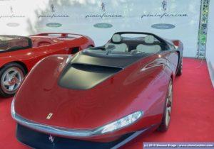 Ferrari Pininfarina Sergio vista frontale