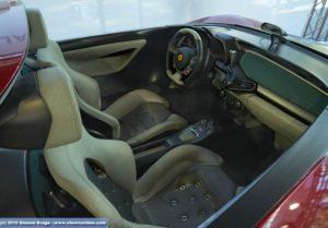Interni Pininfarina Ferrari Sergio