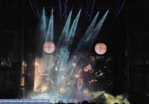 Fari a pioggia su video Vasco Non-Stop Tour