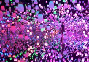 Forest Lamp al Mori Museum Digital Art