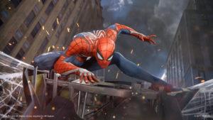 Spider-Man PS4 2018 sui tetti New York