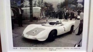 Scarfiotti sulla Porsche a Rossfeld