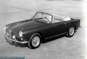 Alfa Romeo 1900C Super Sprint II Cabrio - Ginevra 1957