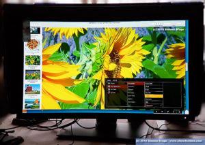Benq SW320 Menu OSD On Screen Display