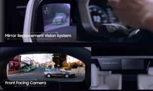Camera frontale e mirror replacement Digital Cockpit