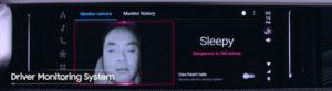 Driver Monitoring System Rilevamento Sonno
