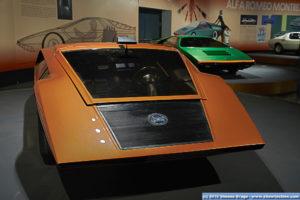 Lancia Stratos Zero ed Alfa Romeo Carabo