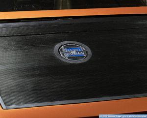 Dettaglio apertura Lancia Stratos Zero
