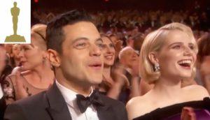 Rami Malek e Lucy Boynton al Dolby Theatre 2019