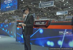 VR mocap Italdesign