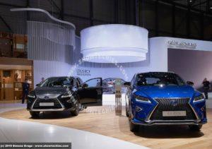 Stand Lexus Ginevra 2019 RX Self Charging Hybrid