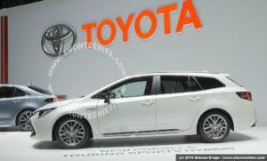 Toyota Nuova Corolla Touring 2019 Sports Hybrid