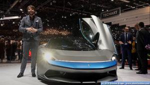 Luca Borgogno Design Director Automobili Pininfarina