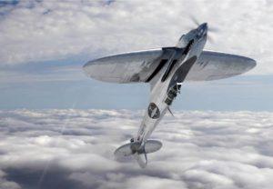Silver Spitfire acrobazia