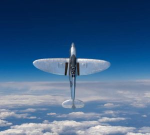 Ali ellittiche Spitfire