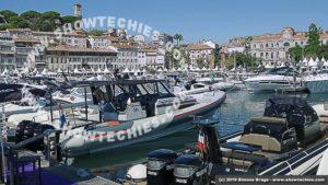 Vieux Port di Cannes con i gommoni