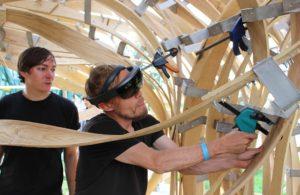 Fissaggio assi di legno secondo progetto AR