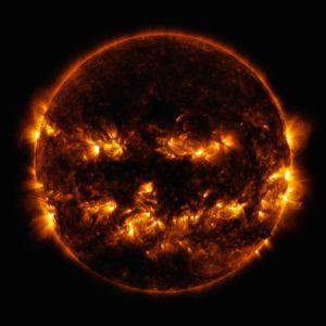 Jack-o-lantern NASA/GSFC/SDO
