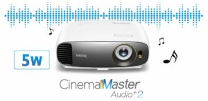 Benq W1720 Cinema Master Audio+2