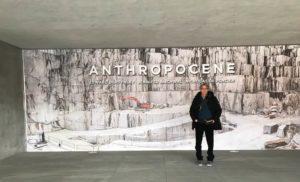Stefano Pannucci sfondo murale cave di marmo di Carrara