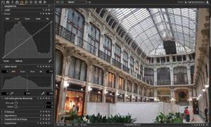 Lumix Leica DG Vario-Summilux 10-25 f 1.7 diagramma Valori tonali e distribuzione LUMA