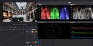 Test Lumix 10-25 f1.7 vettorscopio