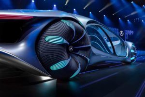 Ruote con LED Mercedes Vision AVTR