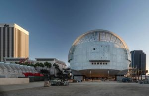 Cantiere Rendering progetto Museo della Motion Picture Academy