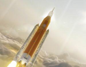 razzo SLSSpace Launch System.